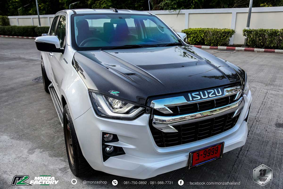 all new isuzu dmax front black 06