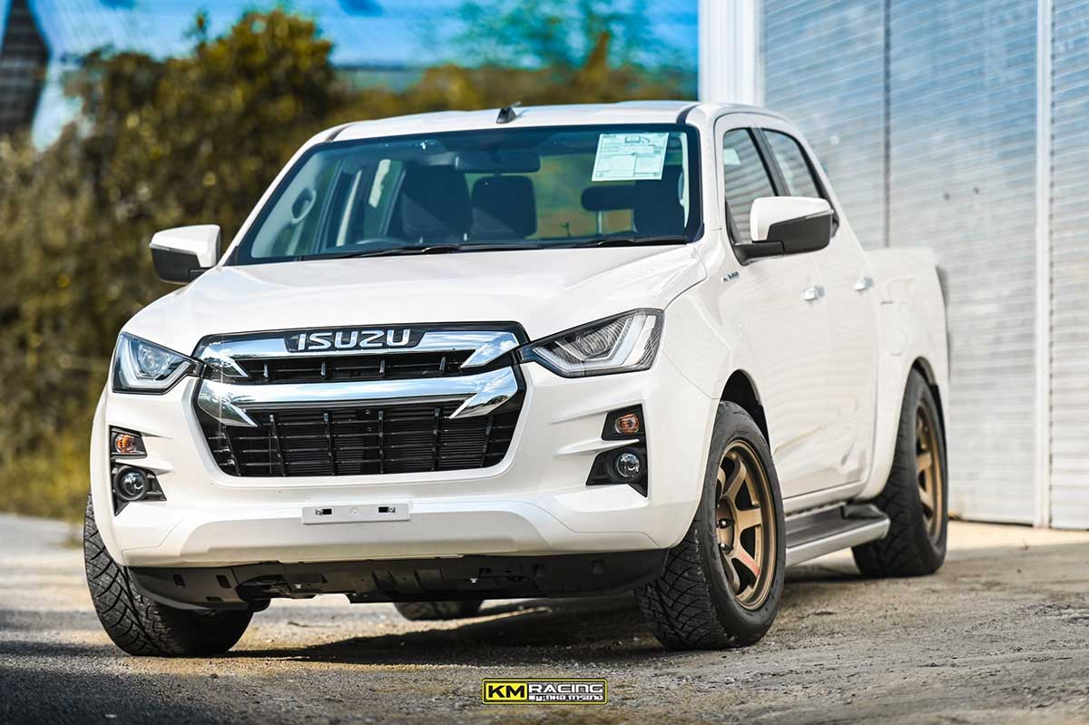 all new isuzud max 2020 white 02