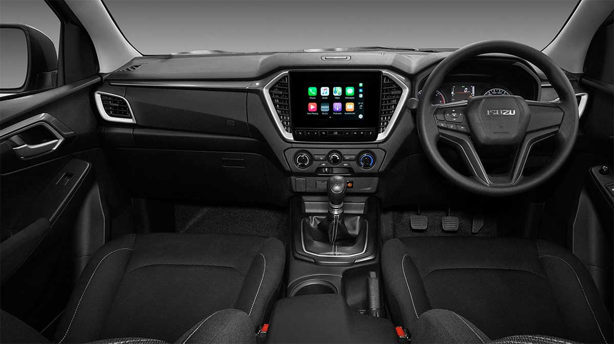 all new isuzu dmax 1 9 l da interior