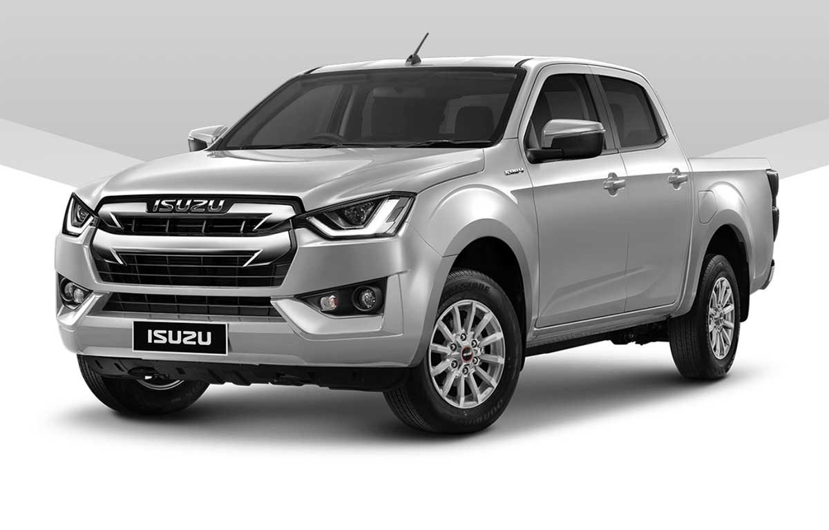 all new isuzu dmax cab4 1 9 l silver 01