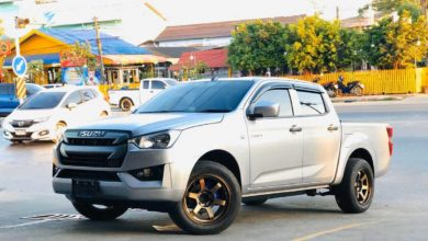 Photo of All new ISUZU D-MAX 2020 CAB4 ล้อ TE-37 SUV มันได้!!!