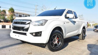 Photo of All new ISUZU D-MAX 2020 Spacecab ล้อ 18 Weld Inferno 9.5