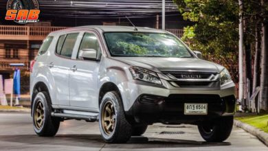 Photo of ISUZU MU-X ล้อ MK37 Flowforming