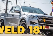 Photo of All new ISUZU D-MAX 2020 Spacecab ล้อ Weld 18″ งามมมม