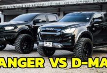 Photo of Ford Ranger VS ISUZU D-MAX 2020