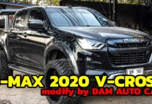 Photo of All new ISUZU D-MAX 2020 V-Cross modify by DAM AUTO CAR
