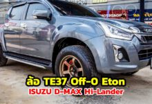 Photo of ISUZU D-MAX Hi-Lander ล้อ TE37 Off- 0 Eton ควบ Toyo ST3 265/60/18
